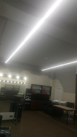 Освещение Салона красоты светильники ДСБ