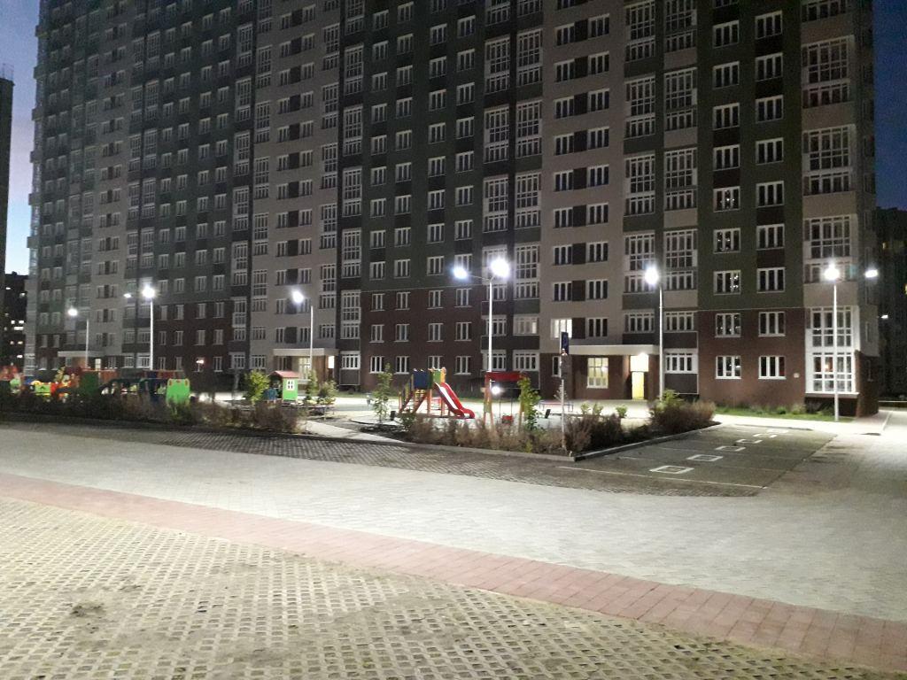 Освещение микрорайона светильниками FLA 150Вт