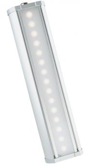 Предназначен для освещения торговых, общественных и производственных помещений, паркингов, автомоек и архитектурной подсветки Светодиодные светильники серии