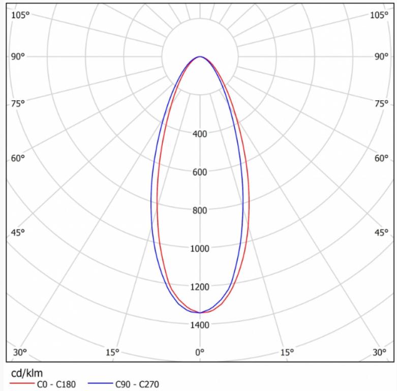 Светильник ДСП 27-520-50-К40 (на кронштейне)
